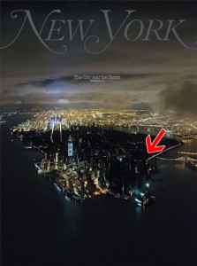 Blackout in New York Nov 2012