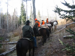 hunting-on-horseback