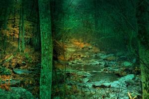 mountain-stream-at-dusk