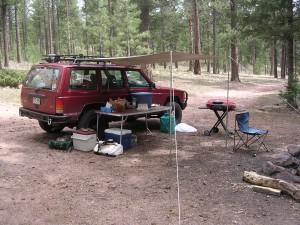 mountain-camping