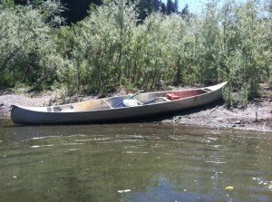 camping-with-a-canoe