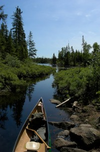 canoeing-in-the-wilderness