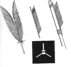 arrow-fletching