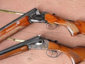 Double barreled shotguns
