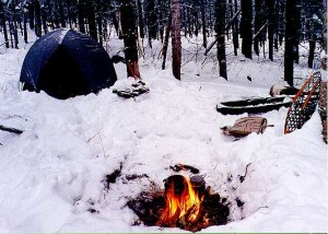 winter-campsite